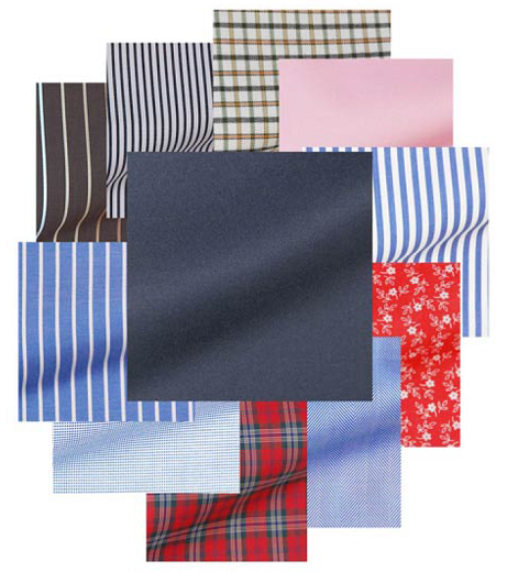 Как сочетать узоры ткани