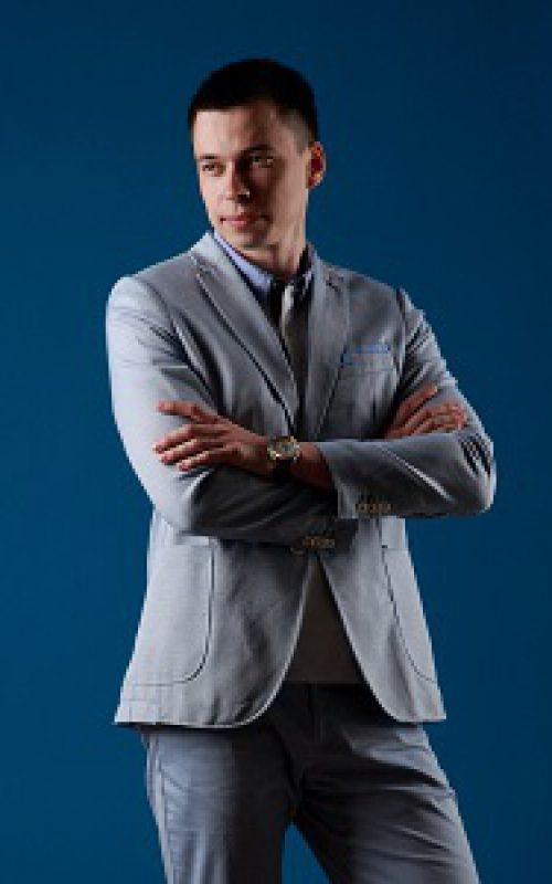 Михаил Бородулько после работы со стилистом