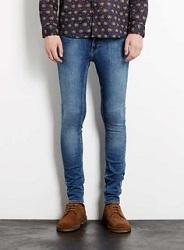 Обтягивающие джинсы