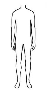 худощавый тип телосложения