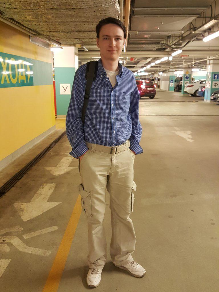 Андрей до шоппинга