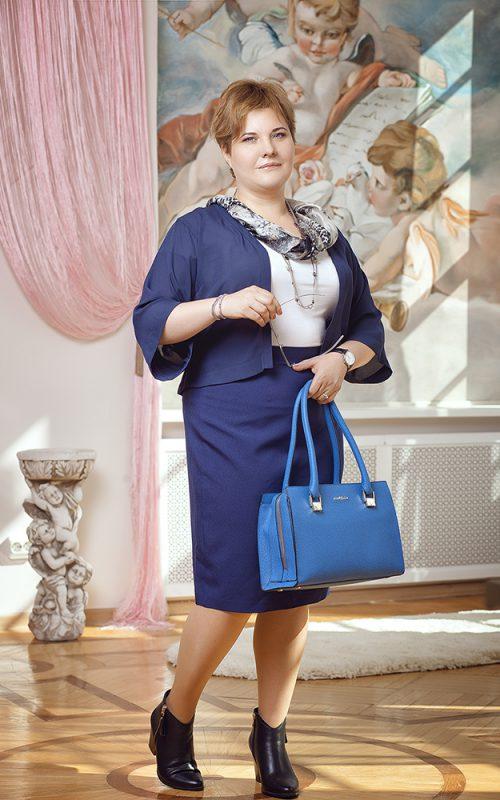Татьяна после шоппинга со стилистом
