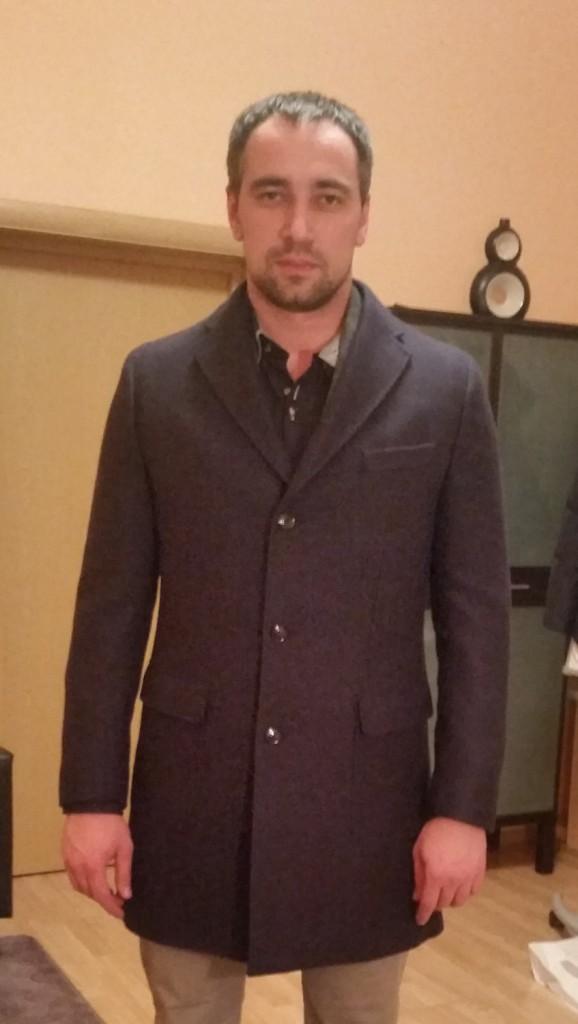 Мужской стиль: классическое пальто