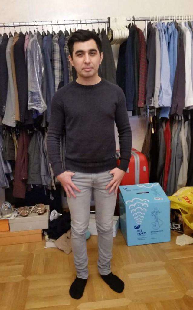 Камил до шоппинга со стилистом