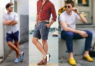 лоферы, мужская летняя обувь
