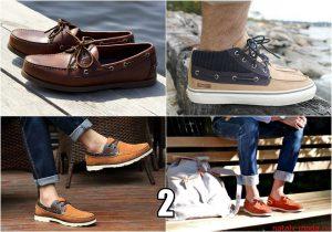 Топсайдеры, мужская летняя обувь