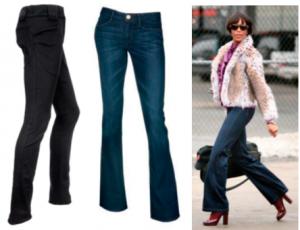 джинсы для пышных форм