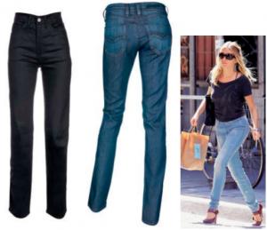 джинсы на худые бедра