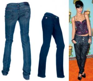 джинсы на низкой талии