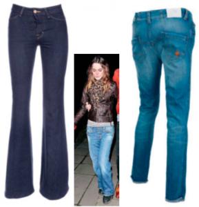 джинсы на длинный торс