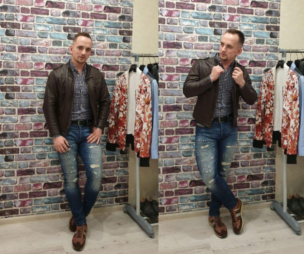 Как сочетать кожаную куртку