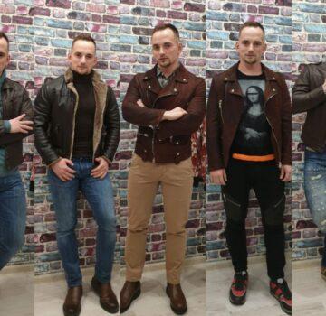 Как носить кожаные куртки
