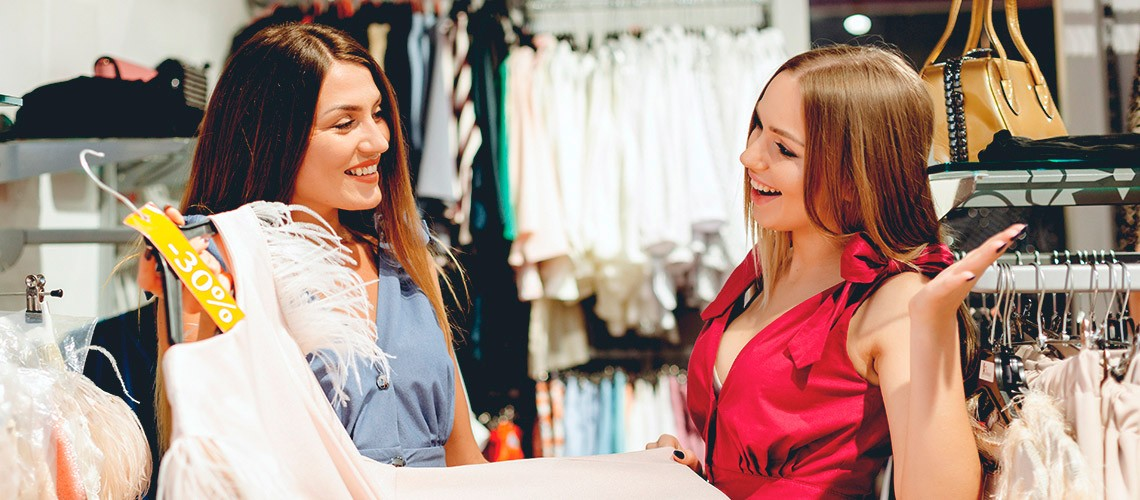 Shopping with a stylist