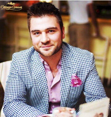 Лев Вожеватов, после шопинга со стилистом Максимом Тимофеевым